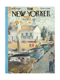 The New Yorker Cover - October 26, 1957 Giclee Print by Garrett Price