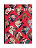 The New Yorker Cover - February 14, 2000 Reproduction procédé giclée par Mark Ulriksen