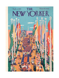 The New Yorker Cover - September 2, 1939 Giclee Print by Ilonka Karasz