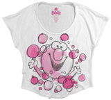Juniors: Mr. Bubble - Watercolor Bubbles T-Shirts