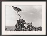 Flag Raising on Iwo Jima, c.1945 Print by Joe Rosenthal