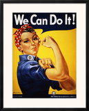 We Can Do It! (Rosie the Riveter) Prints by J. Howard Miller