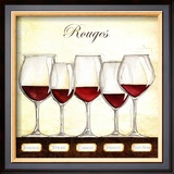 Les Vins Rouges Prints by Andrea Laliberte