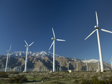 Wind Turbines at San Gorgonio Pass Photographic Print by  Greg