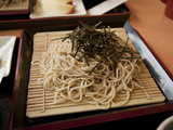 Soba Noodles on a Plate Photographic Print by  Greg