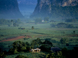 An Early Morning View of a Beautiful Valley in Cuba's Tobacco Region Photographic Print by Kenneth Ginn