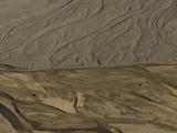 Braided River Beds Where Two Drainages Meet Photographic Print by Michael S. Quinton