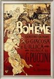 La Boheme, Musica di Puccini Art by Adolfo Hohenstein