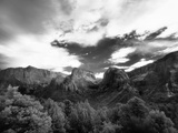 An Infrared Photograph of Kolob Canyon Photographic Print by Ben Horton