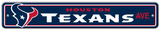 NFL Houston Texans Street Sign Wall Sign