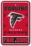 NFL Atlanta Falcons Parking Sign Wall Sign