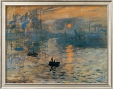 Impression, Sunrise, c.1872 Poster by Claude Monet
