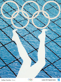 2012 Olympics -Anthea Hamilton-Divers Posters by Anthea Hamilton