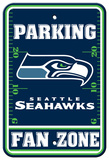 Seattle Seahawks Parking Sign Veggskilt