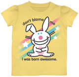 Toddler: Happy Bunny - Don't Blame Me T-shirts