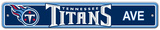 Tennessee Titans Street Sign Wall Sign