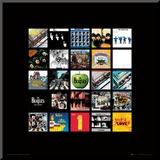 The Beatles: Album Colletion Umocowany wydruk