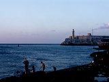 An Evening View Along the Malecon Near Central Havana Photographic Print by Kenneth Ginn