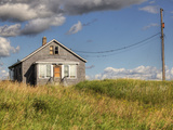 Abandoned Prairie Farmhouse Near One Arrow First Nation Photographic Print by Pete Ryan