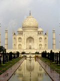 The Taj Mahal Just after a Rainshower Photographic Print by Kenneth Ginn