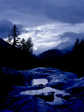 A Rainy Day in the Mountains on Vancouver Island Photographic Print by Kenneth Ginn