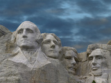 Mount Rushmore National Monument Near Keystone, South Dakota Photographic Print by Tim Fitzharris/Minden Pictures