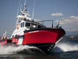 A 47-Ft Lifeboat of the Canadian Coast Guard Plies the Ocean Waters Photographic Print by Pete Ryan