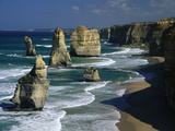 The Twelve Apostles, Port Campbell National Park, Victoria, Australia Photographic Print by Michael and Patricia Fogden/Minden Pictures