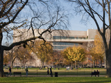 The National Gallery of Art - East Building in Fall Season Photographic Print by  Greg