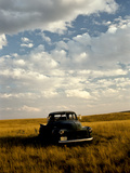 Sunset View of an Old Farm Truck Photographic Print by Kenneth Ginn