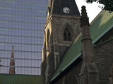 Contrasts of Old and New Buildings in Montreal, Canada Photographic Print by Stacy Gold