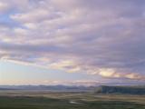 Midnight Sun, Smith Mountains, Brooks Range, Arctic National Wildlife Refuge, Alaska Photographic Print by Matthias Breiter/Minden Pictures
