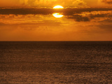 A Setting Sun Where the Perfect Maui Vacation Begins... at Ka'Anapali Photographic Print by Pete Ryan
