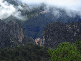 Clouds, Cliffs and Trees Outside Monterrey Photographic Print by Raul Touzon