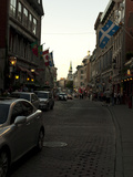 Street Scene in Old Montreal, Canada Photographic Print by Stacy Gold