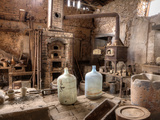 A Well-Preserved Assay Office in a Ghost Gold Mining Town Fotografiskt tryck av Pete Ryan