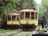 Ex-Duluth Street Railways and Ex-Twin City Rapid Transit Streetcars Photographie par Kent Kobersteen