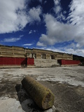 The Palace of Pezelao, Ruler at Mitla Circa 900 A.D Photographic Print by Raul Touzon