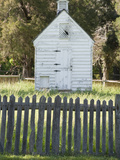 Wood Building and Fence at Historic George Washington Birthplace Photographic Print by  Greg