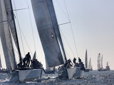 An International Yachting Race Near Victoria, British Columbia Photographic Print by Pete Ryan
