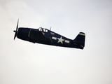 The Grumman F6F-5 Hellcat Was a Carrier-Based Fighter Aircraft Fotografiskt tryck av Pete Ryan