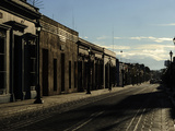 An Empty Street in Oaxaca Photographic Print by Raul Touzon