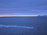 Tabular Iceberg in the Southern Sea at Sunset Photographic Print by Steve And Donna O'Meara