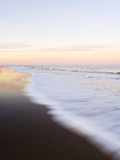 Surf at Sunset Off Fernandina Beach Photographic Print by Mauricio Handler