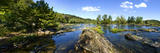 Panoramic of Potomac River Above Great Falls on Virginia Side of River Photographic Print by Paul Sutherland