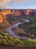 View from Tsegi Overlook, Cayon De Chelly National Monument, Arizona Photographic Print by Tim Fitzharris/Minden Pictures