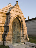 Morning Light on Tombs in the Oakland Cemetery, Atlanta Fotografiskt tryck av Krista Rossow