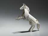 An Origami Horse Photographic Print by Rebecca Hale
