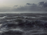 Windstorm over Ocean in Beagle Channel, Tierra Del Fuego, Argentina Photographic Print by Colin Monteath/Minden Pictures