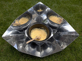 Food Cooked in a Solar Cooker Photographic Print by Rebecca Hale